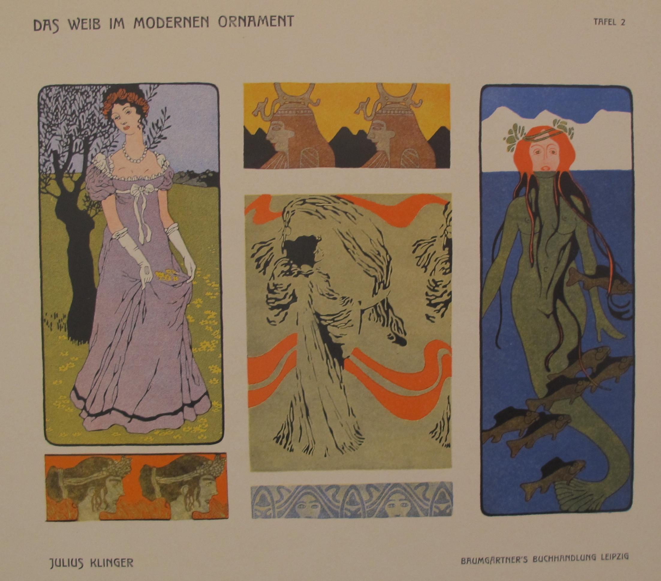 Plate 2/Tafel 2 Das W... by  Julius Klinger - Masterpiece Online