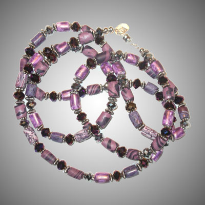 TA7667 Purple Passion... by  Terrie Allen - Masterpiece Online