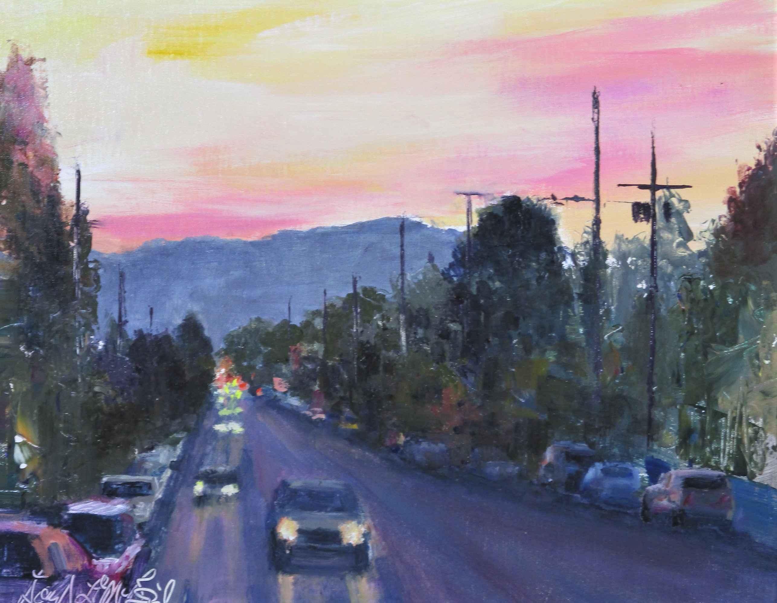 Stumptown at Dusk by  David McBride - Masterpiece Online
