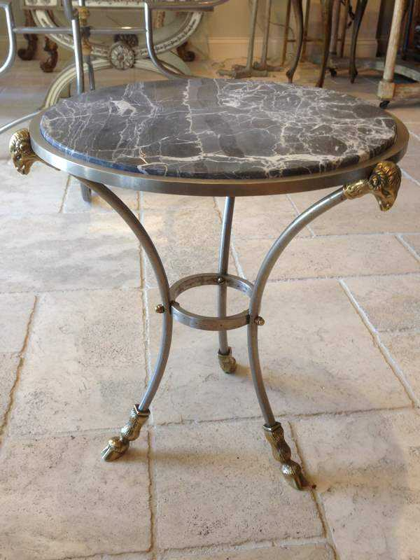 Round Accent Table by  None None - Masterpiece Online