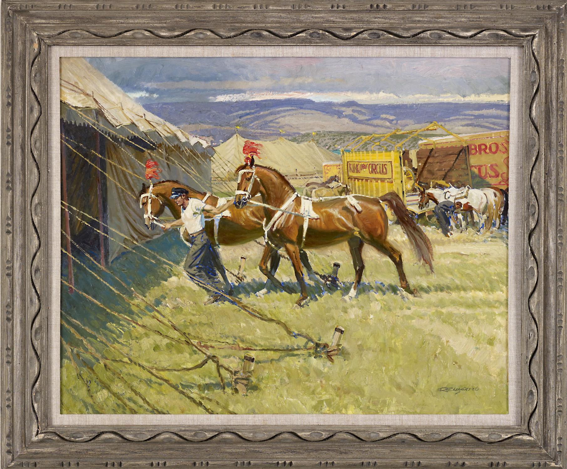 Circus Liberty Horse by  Robert Lougheed - Masterpiece Online