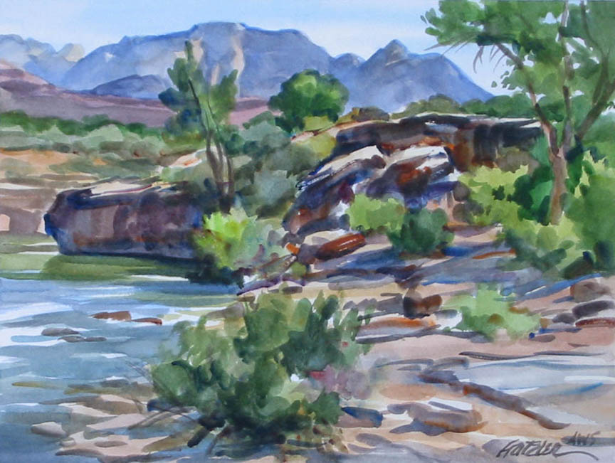 Virgin Riverbank (unf... by Mr. & Mrs. Gerald Fritzler - Masterpiece Online