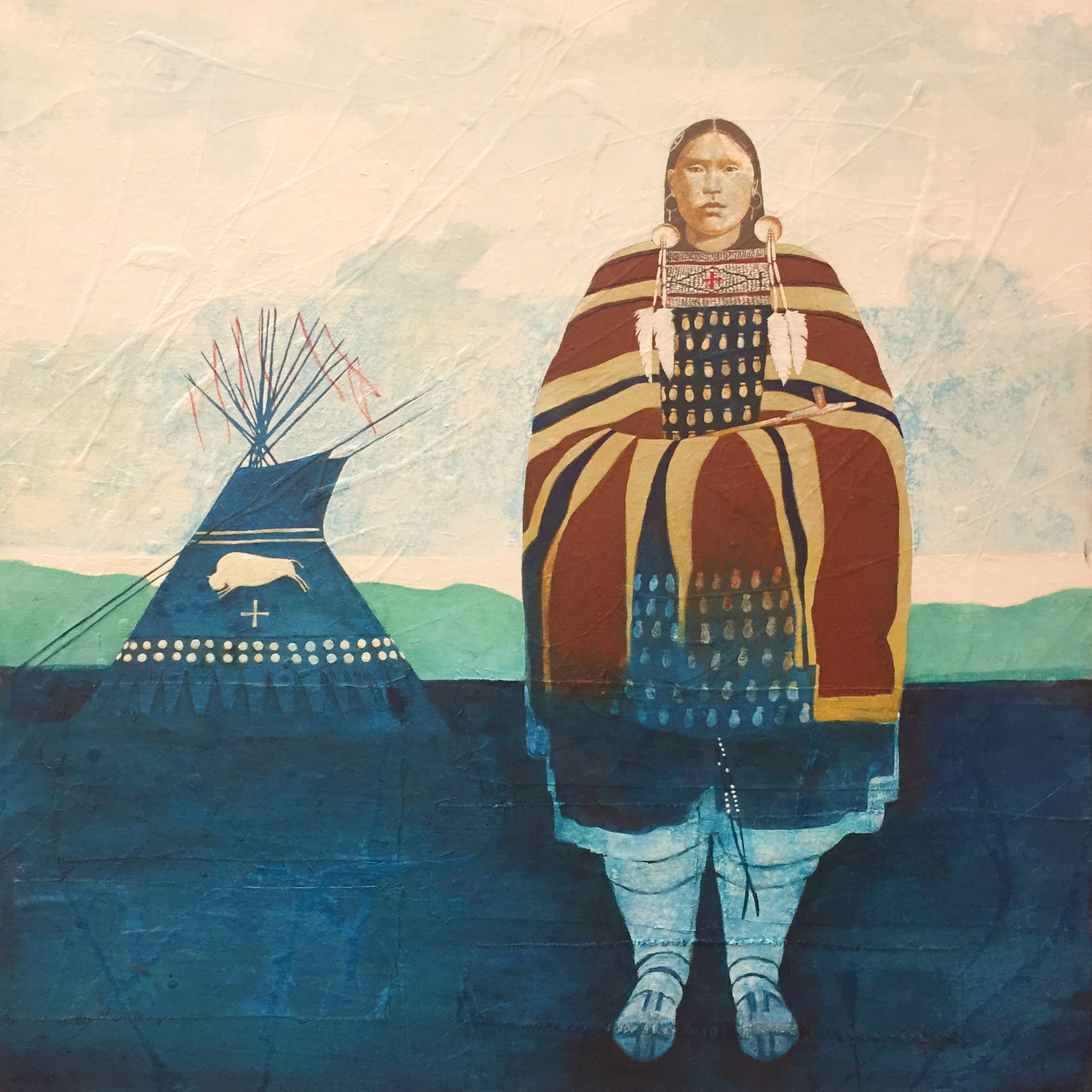 White Buffalo Woman by  Ben Wright - Masterpiece Online