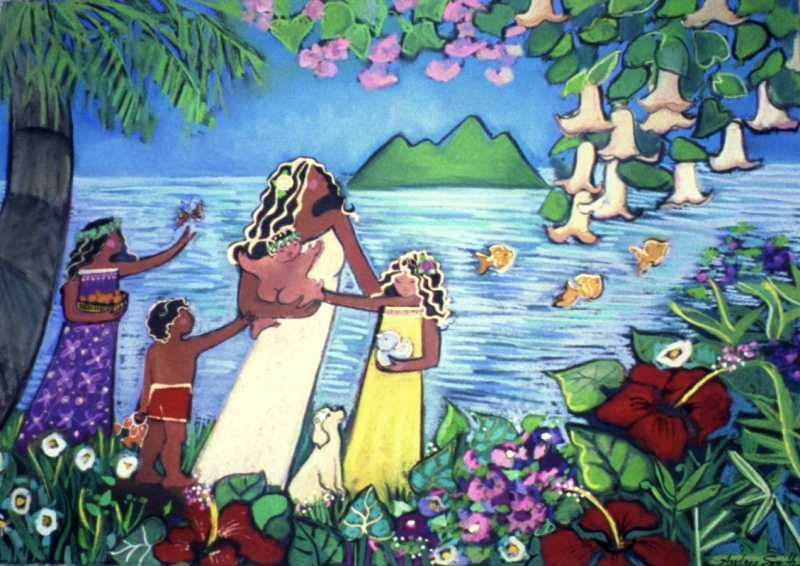 Hawaiian Happiness by  Andrea Smith - Masterpiece Online