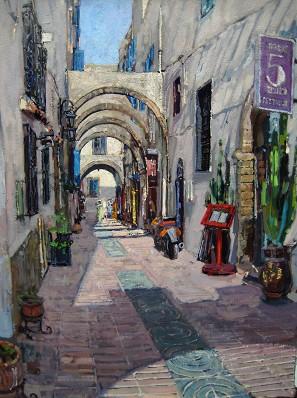Rue Yousseff el Fassi by  Daud Akhriev - Masterpiece Online