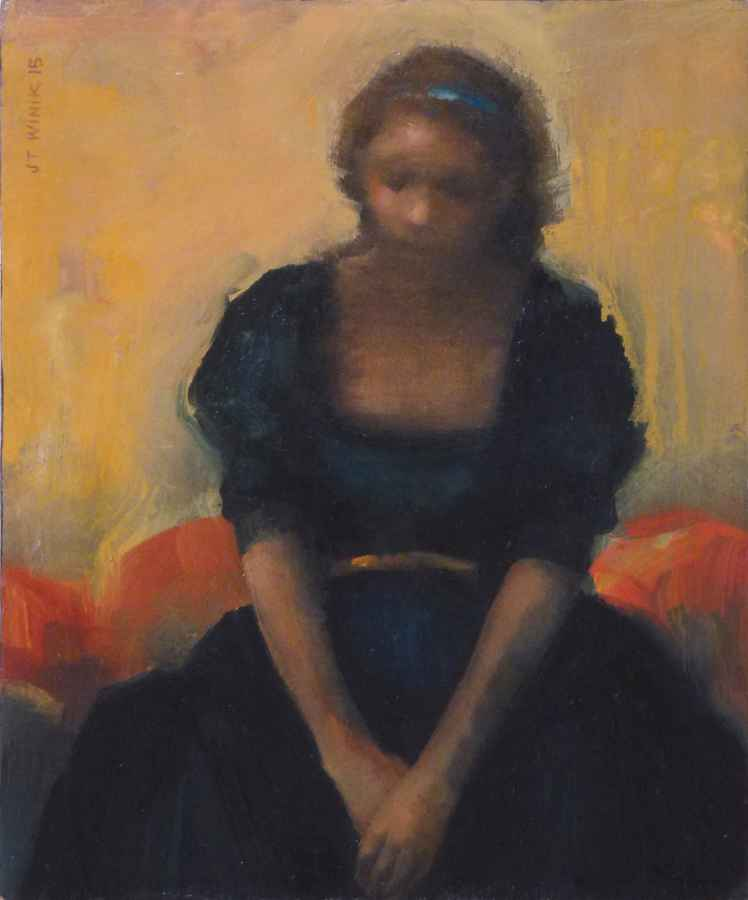 Sitting  by  J.T. Winik