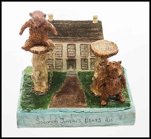 Solomon Juneau's Bears by Ms. Darlene Wesenberg Rzezotarski - Masterpiece Online