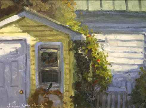 Shed Shadows by  Jimmy Craig Womble, II - Masterpiece Online