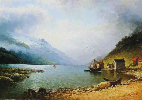 Lake Baikal Russia by  Alexander Popoff  - Masterpiece Online