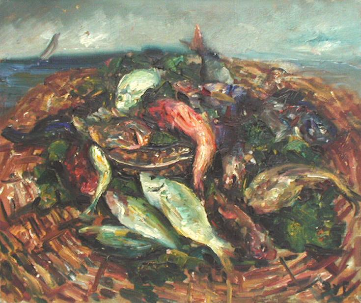 Fruits De La Mer by  Marcel  Dyf  - Masterpiece Online
