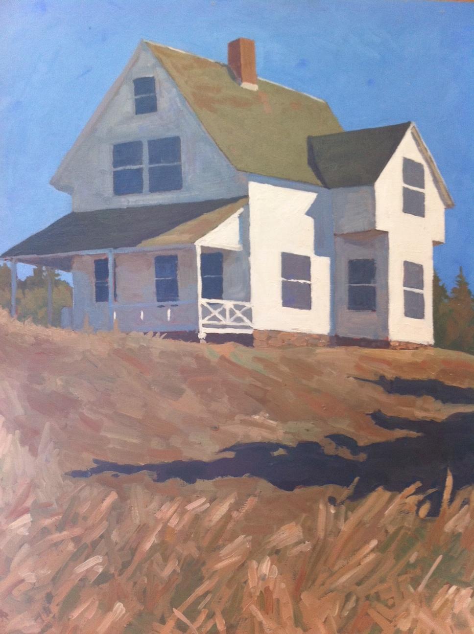 Island Parsonage by  Melissa Hefferlin - Masterpiece Online