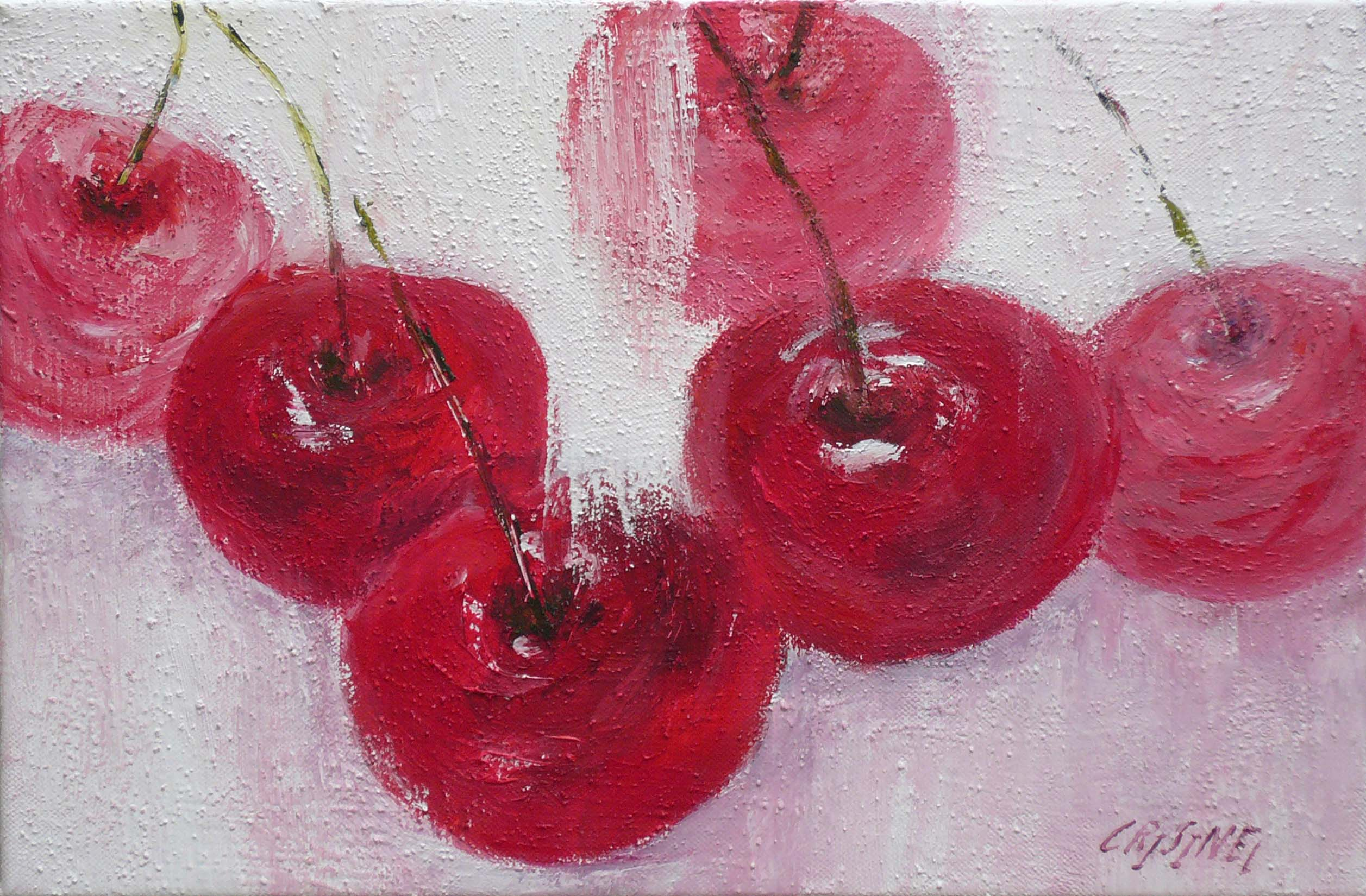 Les cerises by   CRISINEL - Masterpiece Online