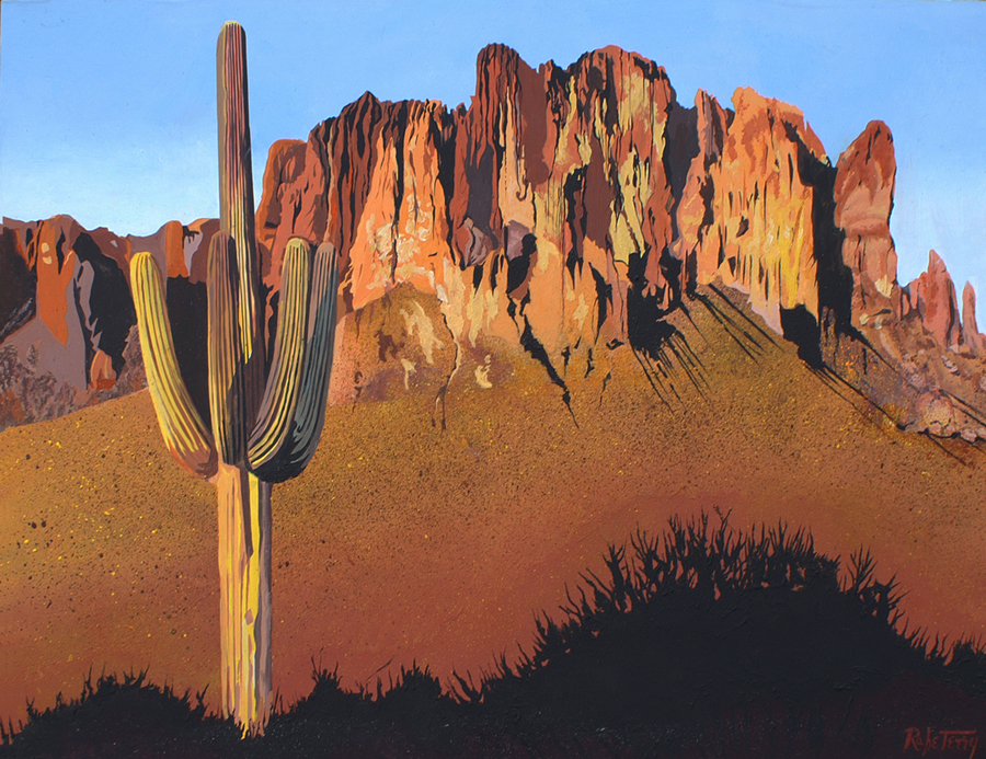 Superstition Mountain... by  Rafe Terry - Masterpiece Online