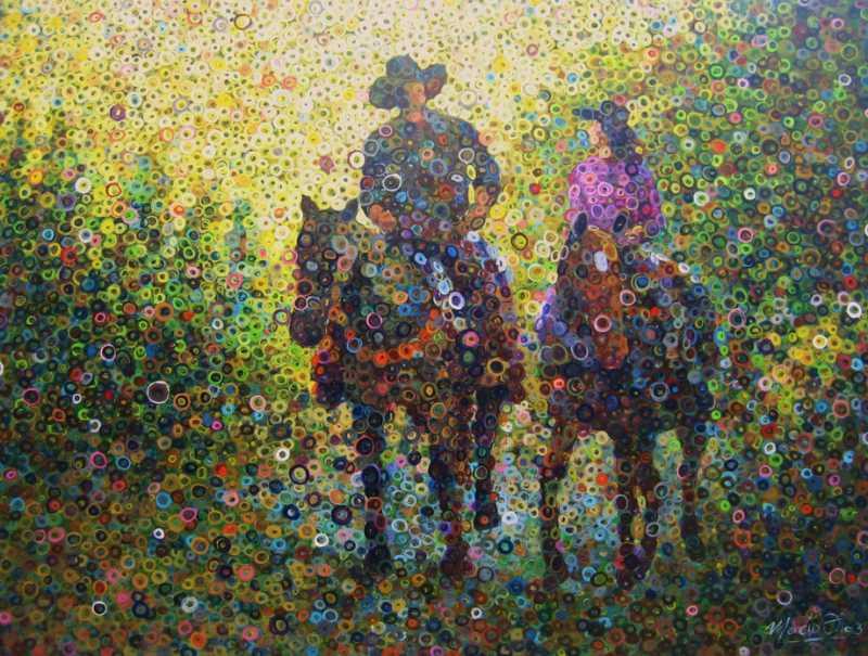 Evening Riders by  Marcio Diaz - Masterpiece Online