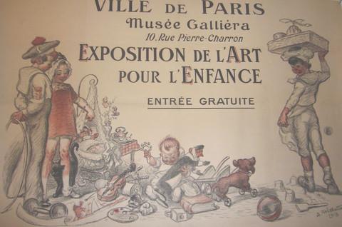 Exposition de l'art d... by   Adolphe Willette - Masterpiece Online