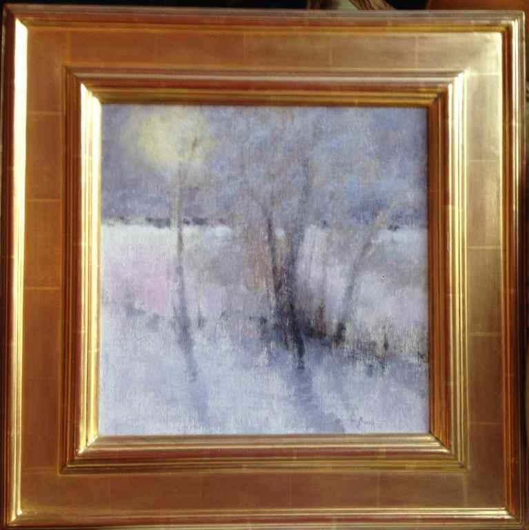 Pondares Winter, Italy by  Nancy Bush - Masterpiece Online
