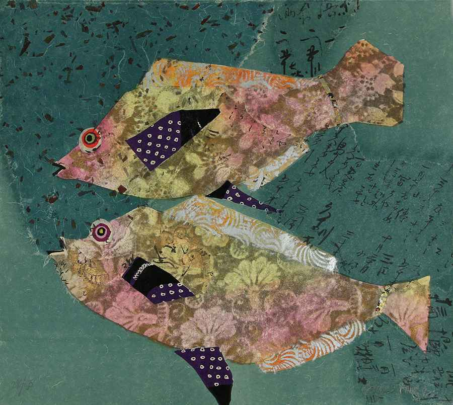 2 Fishes by  Karyn Young - Masterpiece Online