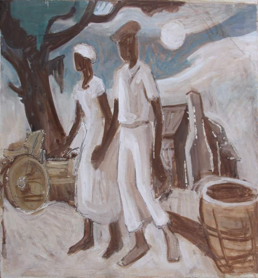 The Romance by  Thomas Hart Benton - Masterpiece Online