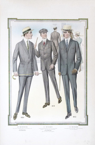 1915 Men's Fashion Pl... by  Anonymous  - Masterpiece Online