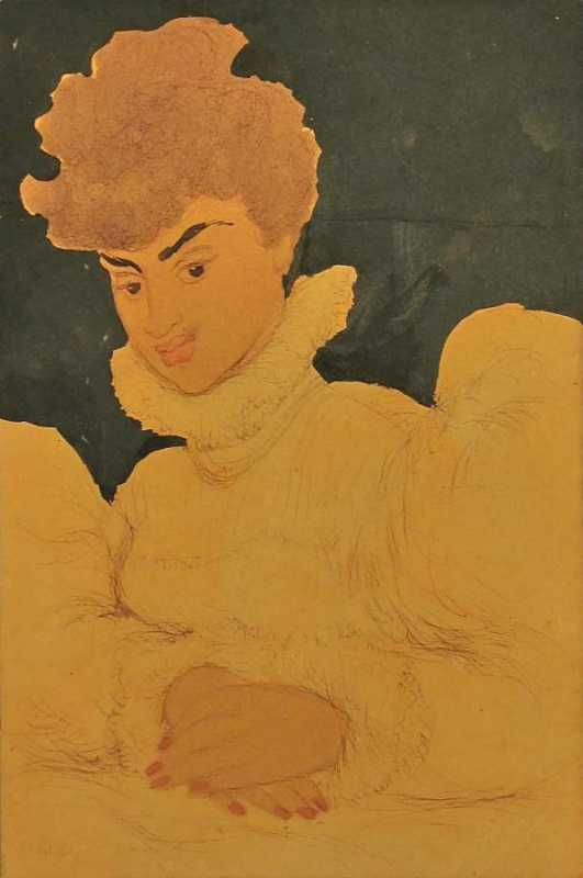 Woman 1 by  Madge Tennant - Masterpiece Online