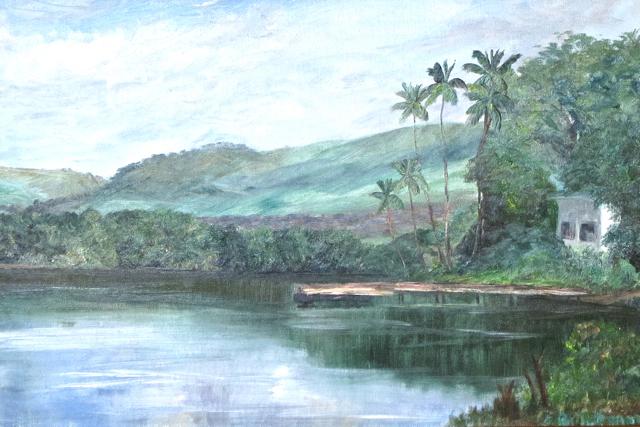 Kaneohe  Oahu by Ms. Irma Brickman - Masterpiece Online