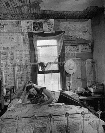 Young girl lying on b... by  Alfred Eisenstaedt - Masterpiece Online
