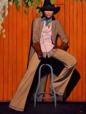 Foxy Lady by  David DeVary - Masterpiece Online