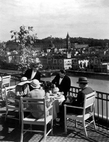 Afternoon Tea on the ... by  Alfred Eisenstaedt - Masterpiece Online