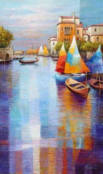 Afternoon, Venice by  Gabriella Mariani - Masterpiece Online