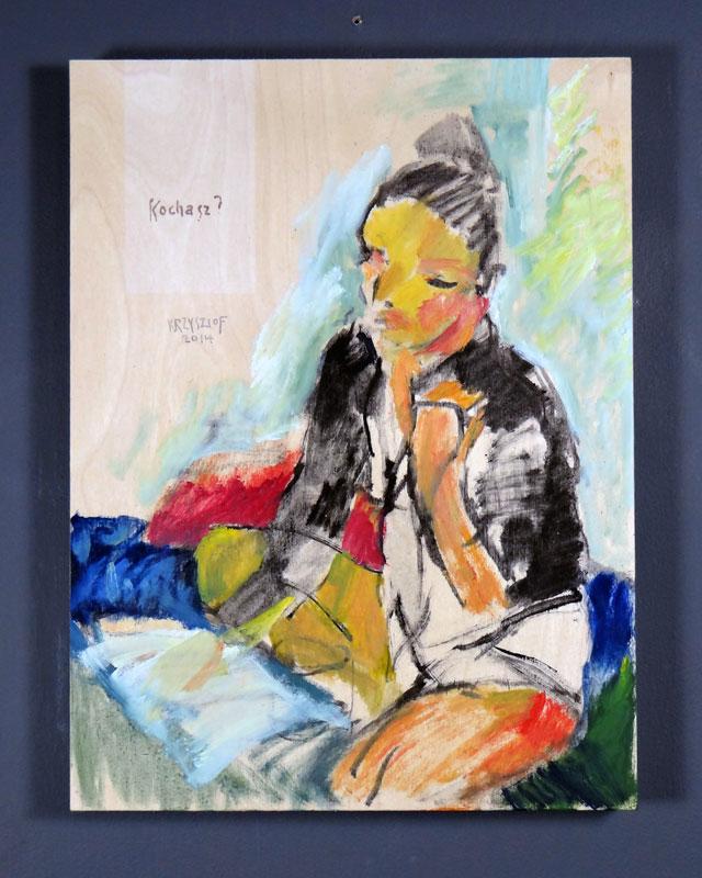 Kochasz? (Love?) by  Krzysztof Doniewski - Masterpiece Online