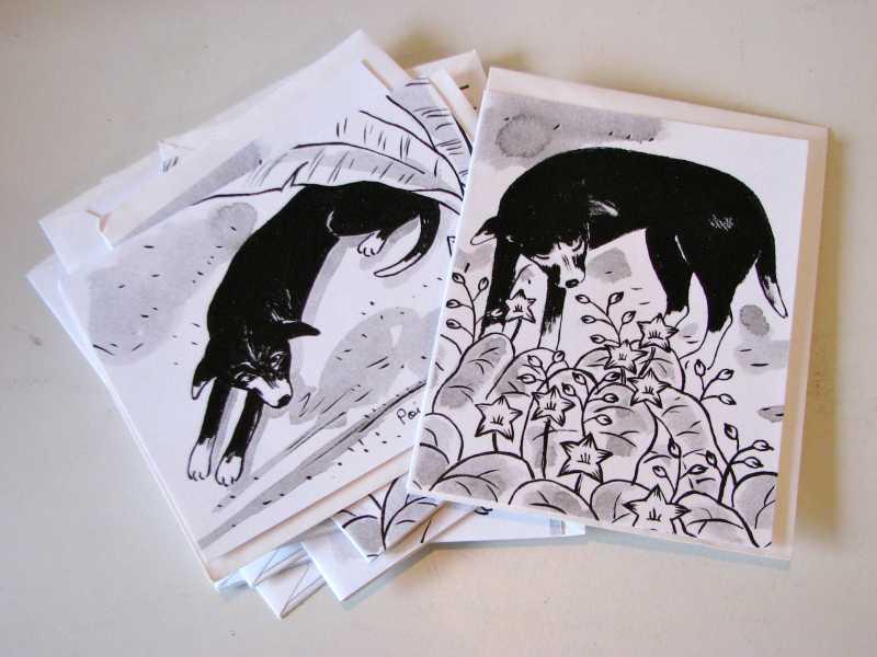 Dog Card Packs by  Jinja Kim - Masterpiece Online