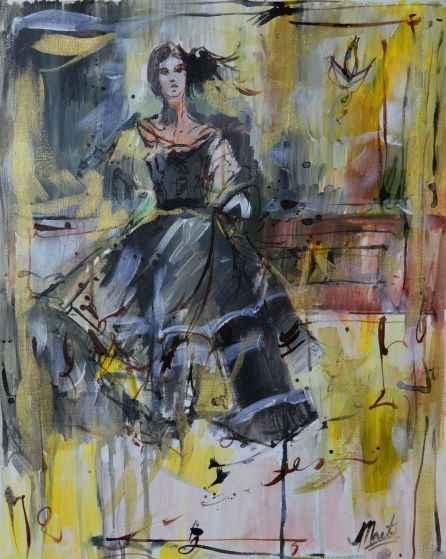 Untitled Black Dress  by  Marta Wiley