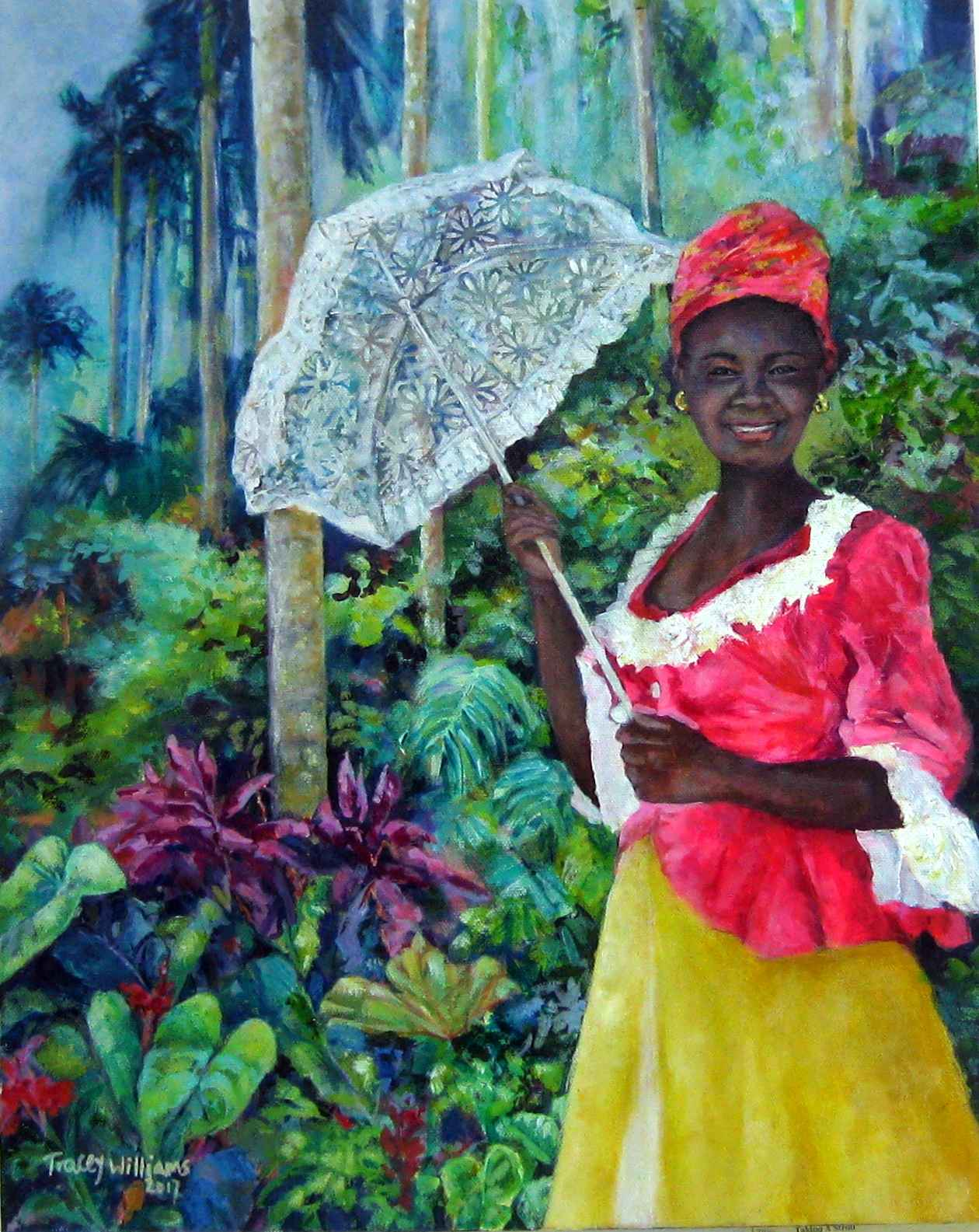 Taking A Stroll by Ms. Tracey Williams - Masterpiece Online