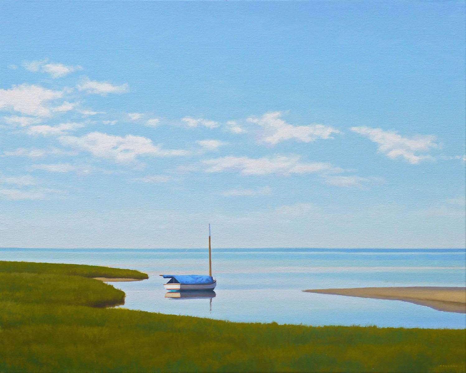 Afternoon Inlet by  Jim Holland - Masterpiece Online