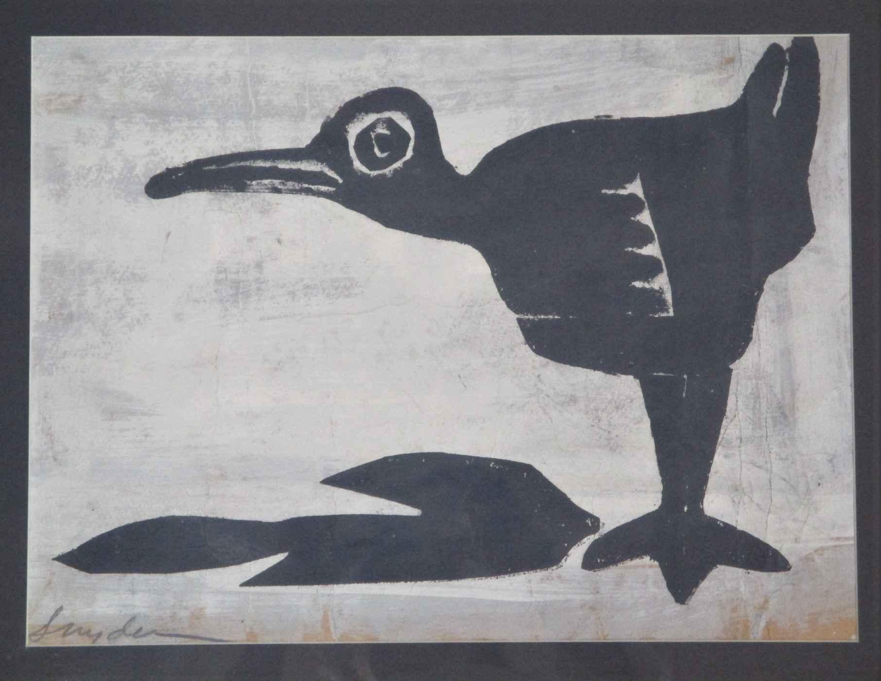 Title Unknown (bird w... by  Amanda Snyder - Masterpiece Online