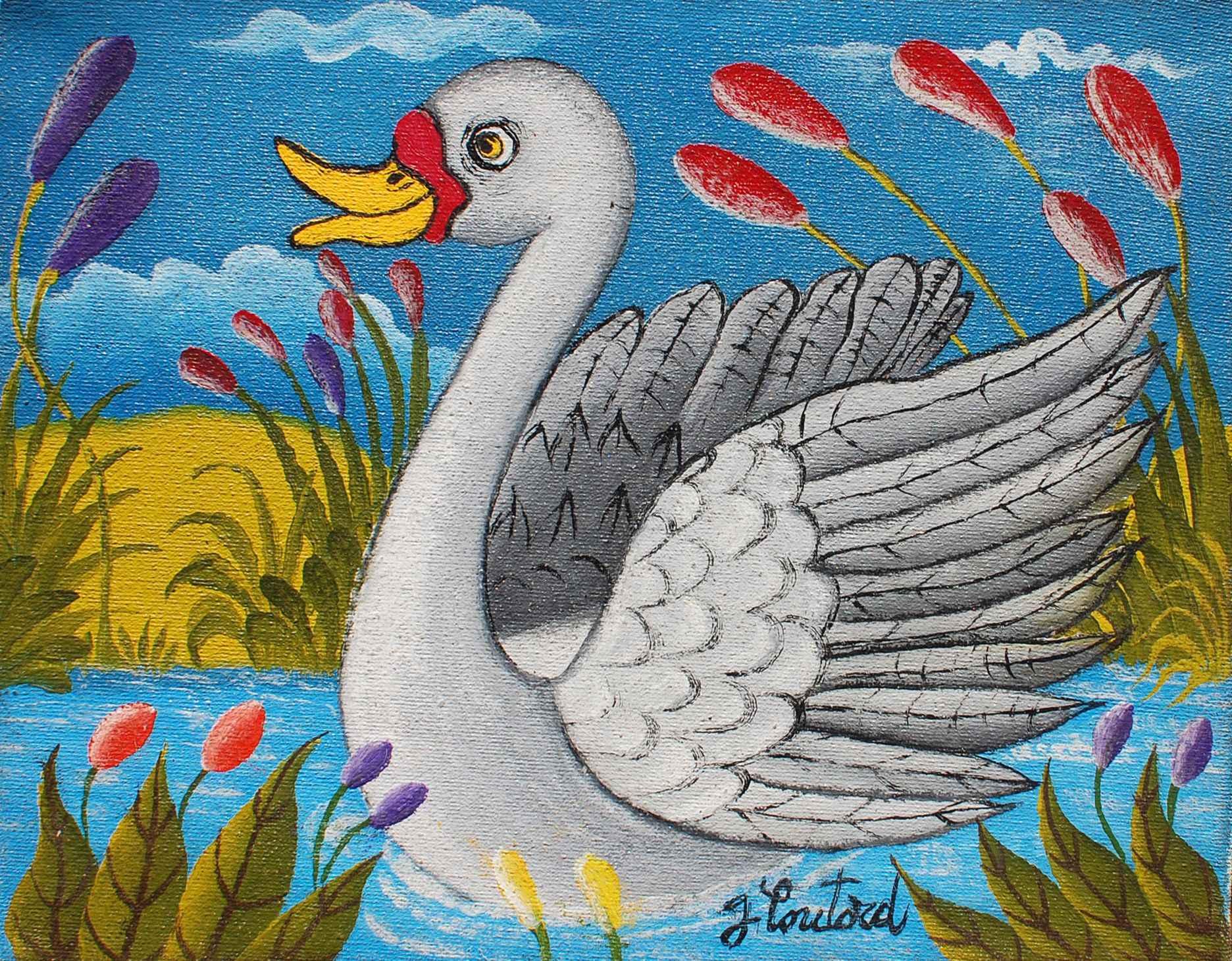 Swan by  Gabriel COUTARD - Masterpiece Online