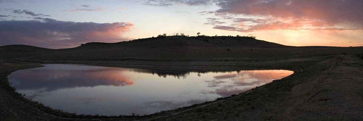 Sunset Pond by  George Jerkovich - Masterpiece Online