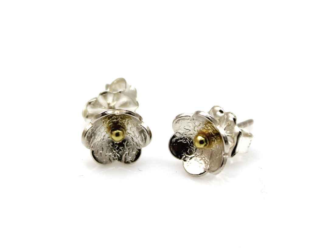 Flower Stud Earrings by  Chris Pruitt - Masterpiece Online