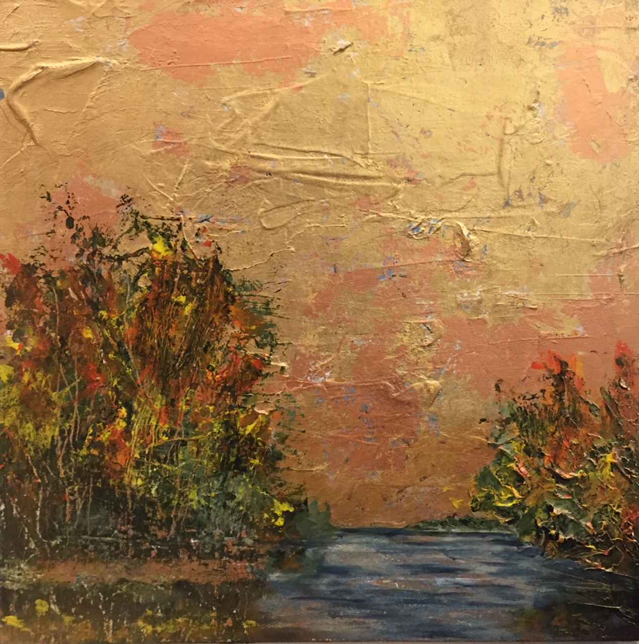 Autumn on the Stream by  Steve Lyons - Masterpiece Online