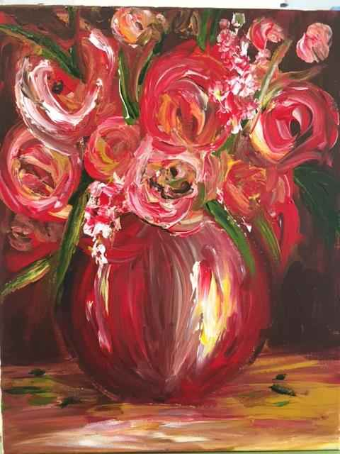 Red Roses by  Boston Logan - Masterpiece Online