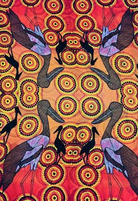 Jabiru Sarong by Ms Irene Bowyer - Masterpiece Online