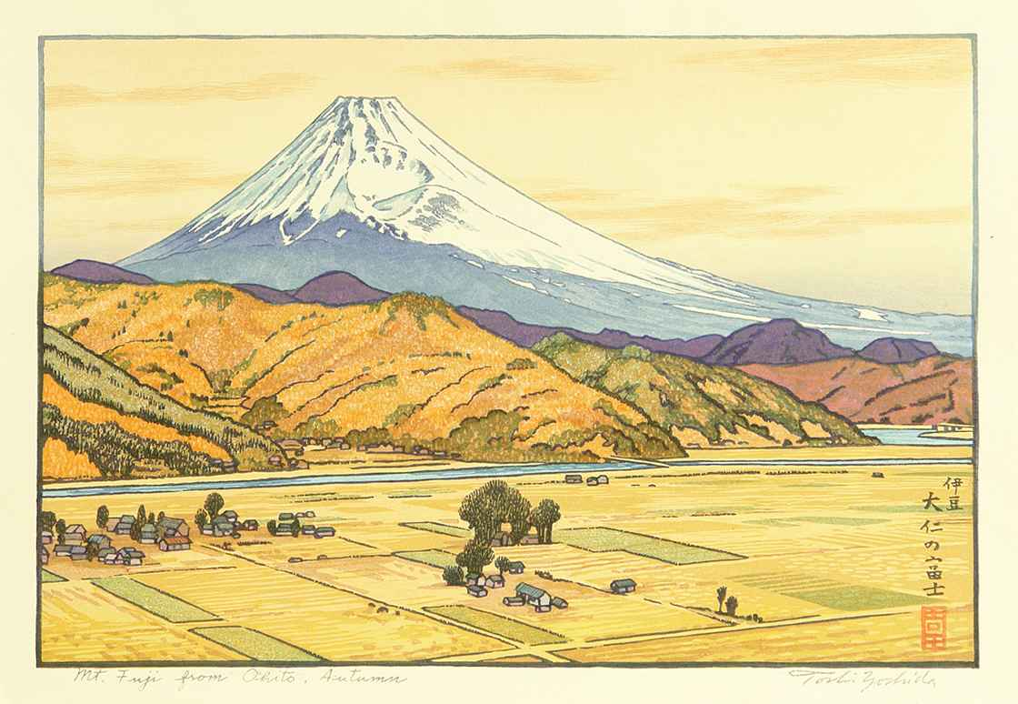 Mt. Fuji From Ohito, ... by  Toshi Yoshida - Masterpiece Online