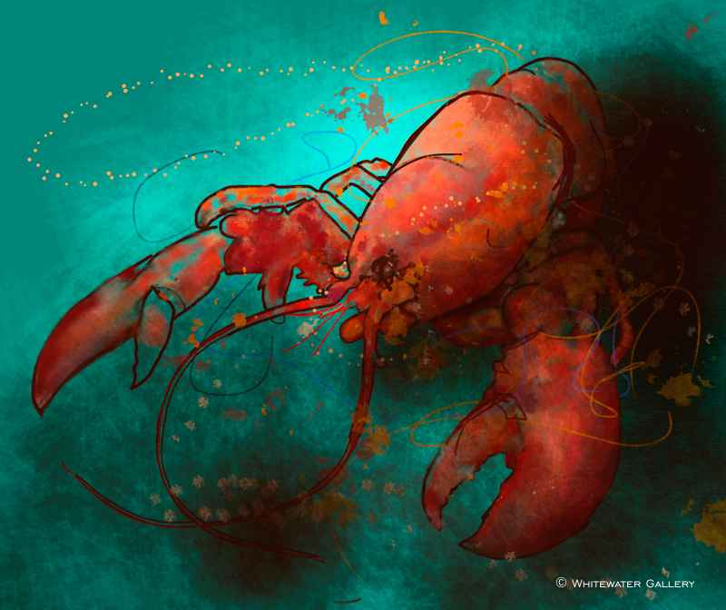 Red Lobster Placemat by   Placemats & Coasters - Masterpiece Online