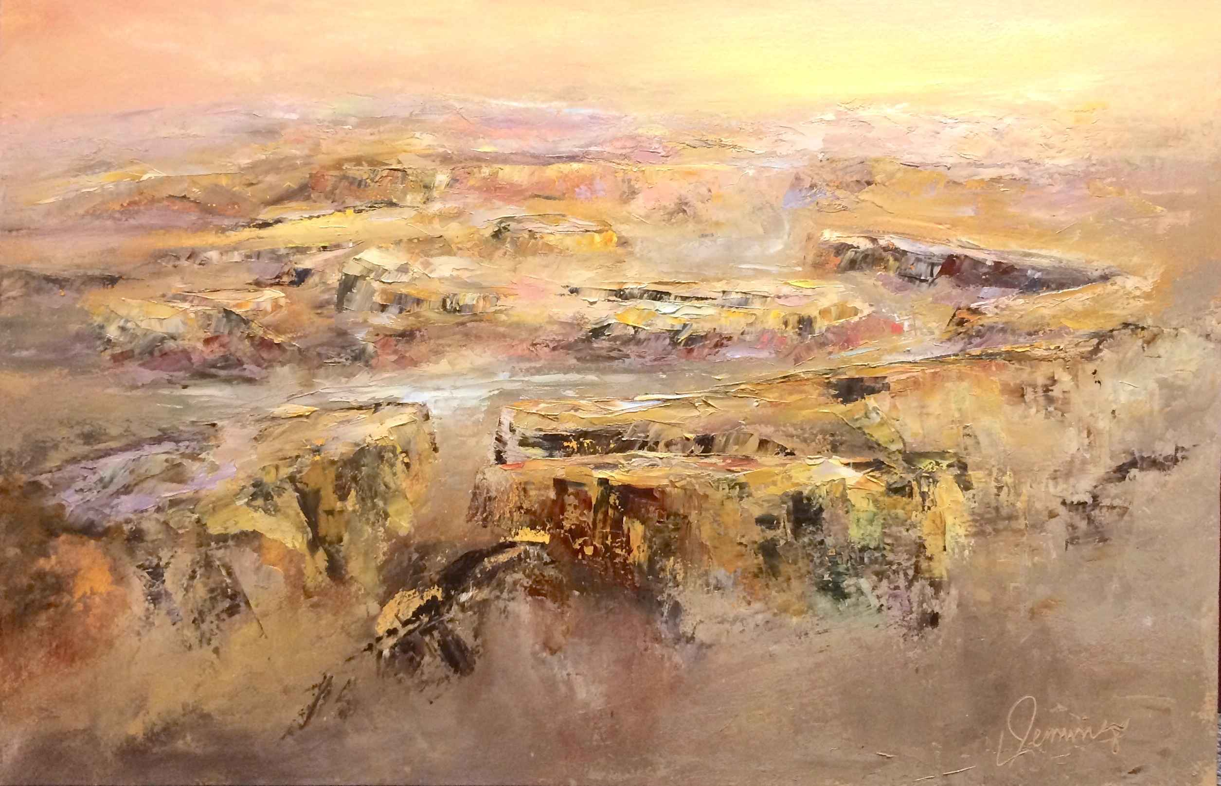 Canyon Gold by  Lynette Jennings - Masterpiece Online