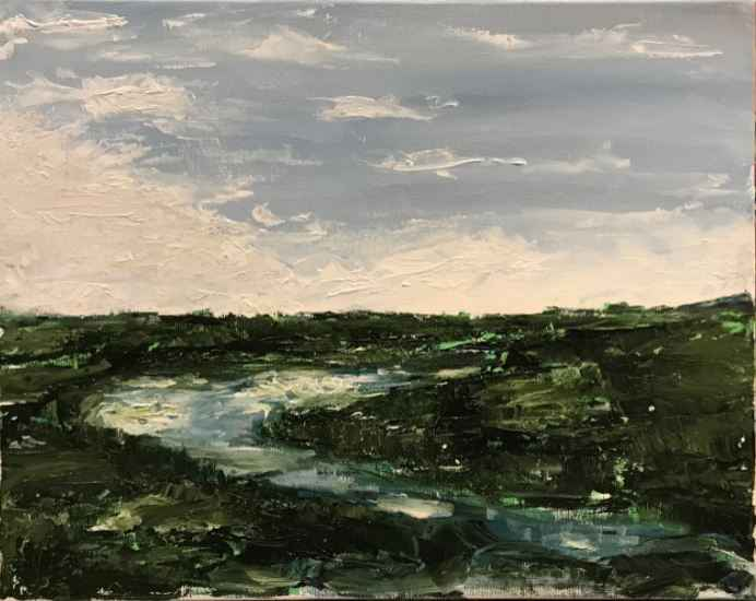 Cloudy Waters by  Emmet Towey - Masterpiece Online