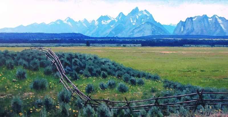 Teton Valley ( aagard)  by  Douglas Aagard