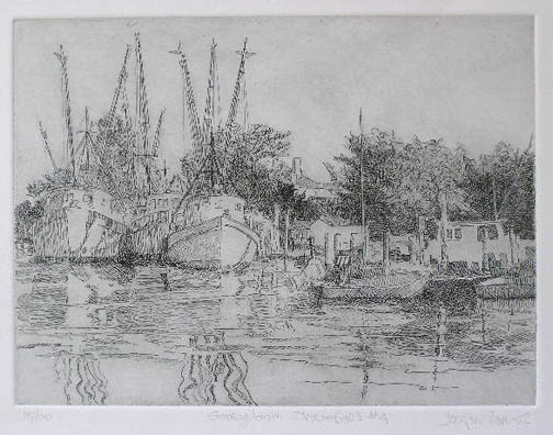 Sampit River Quartet  by  Joseph Cave - Masterpiece Online