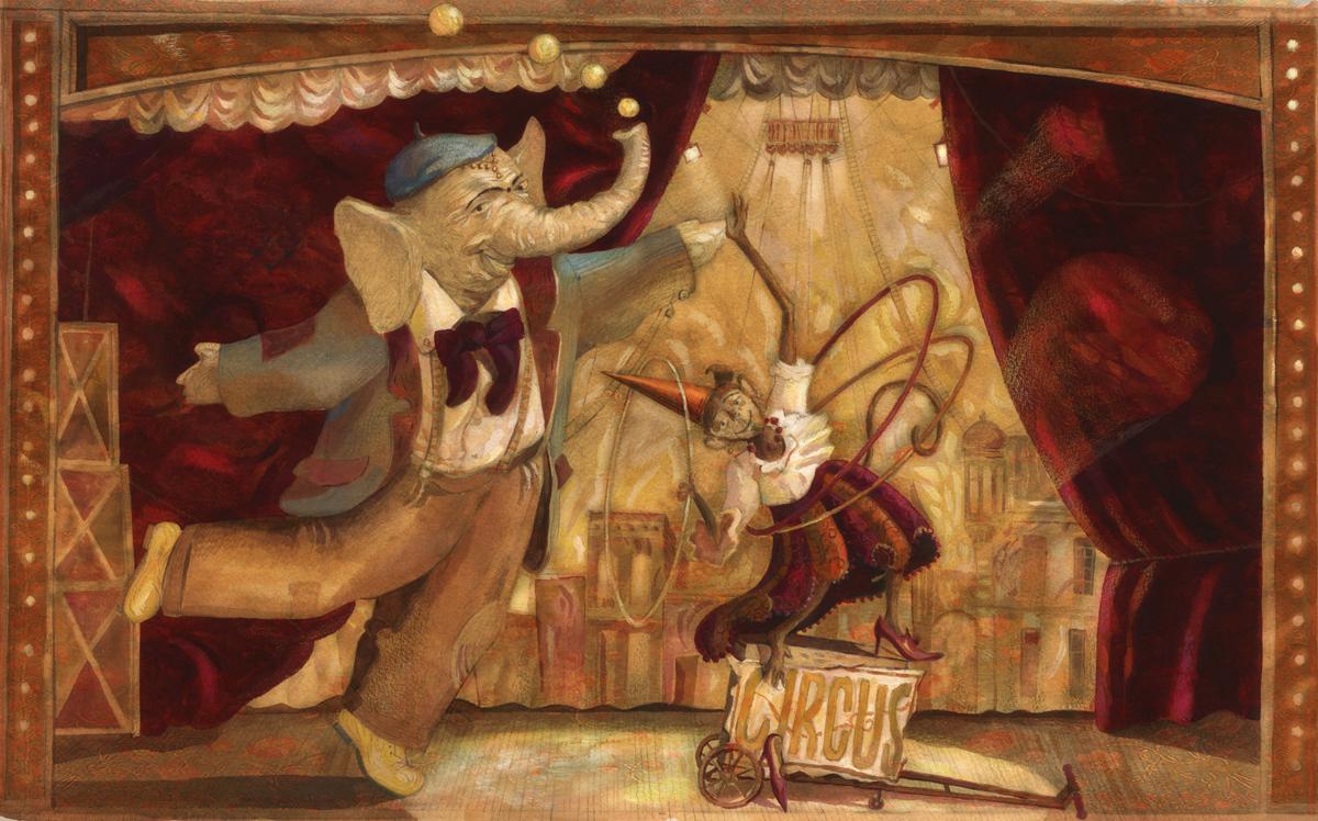 I want to be Big Top by  Igor Karash - Masterpiece Online