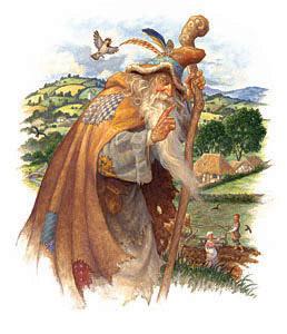 Merlin The Wizard Vis... by  Scott Gustafson - Masterpiece Online