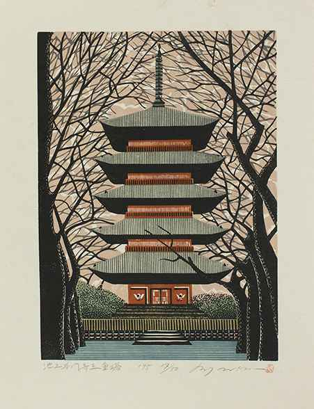 Tower at Ikegami-Honm... by  Rey Morimura - Masterpiece Online